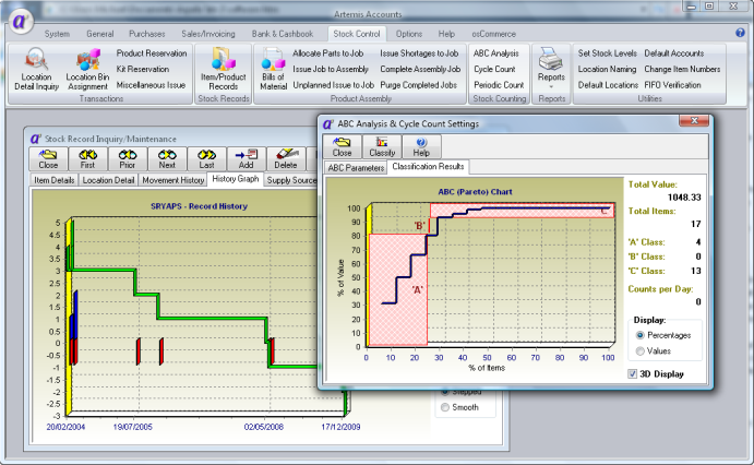 Click to view Artemis Accounts 3.0.11 screenshot